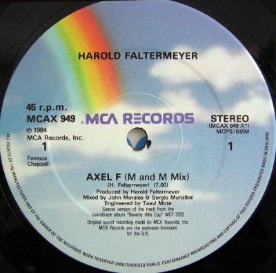 HAROLD FALTERMEYER - Axel F / Shoot Out