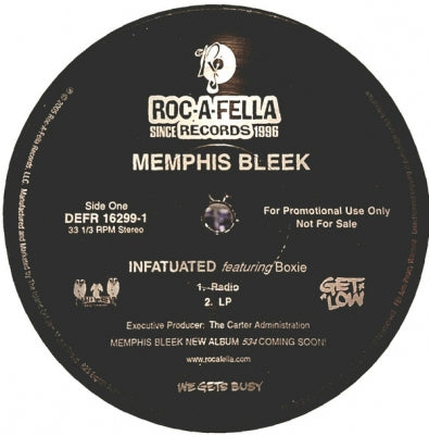 MEMPHIS BLEEK FEAT. BOXIE - Infatuated
