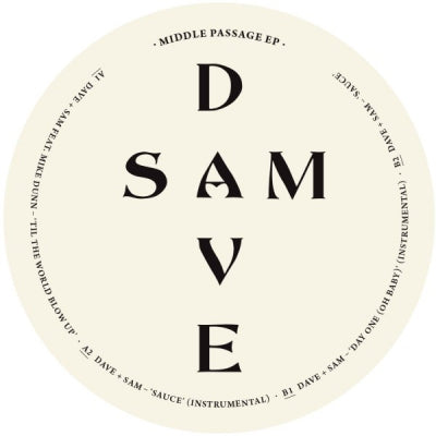 DAVE + SAM - Middle Passage EP (feat. Mike Dunn)