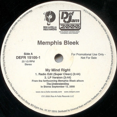 MEMPHIS BLEEK - My Mind Right