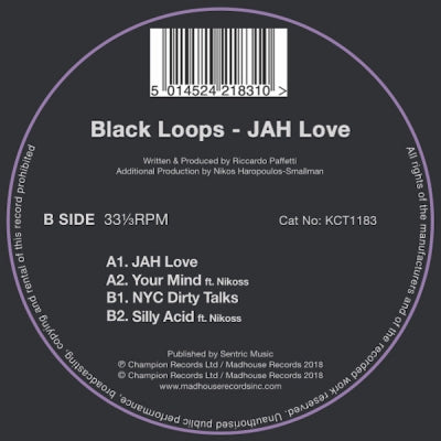 BLACK LOOPS - Jah Love