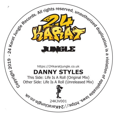 DANNY STYLES - Life Is A Roll Revisited