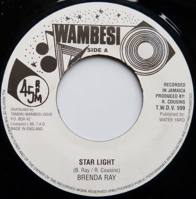 BRENDA RAY - Star Light / Please Be Mine Tonight