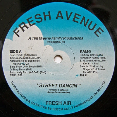 FRESH AIR - Street Dancin' / Miss You