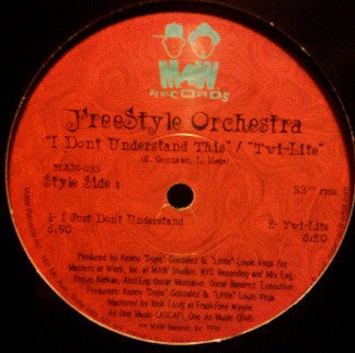 FREESTYLE ORCHESTRA - I Just Don't Understand This / Twi-Lite