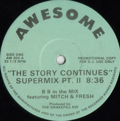 B B FEATURING MITCH & FRESH - The Story Continues