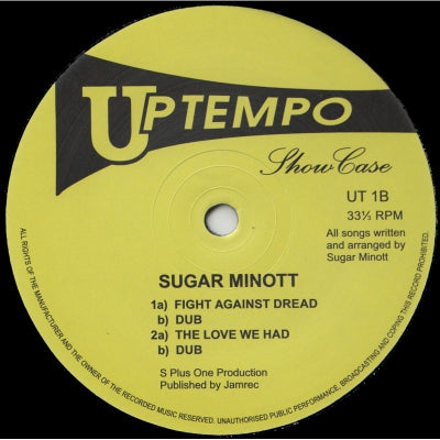 SUGAR MINOTT - Showcase