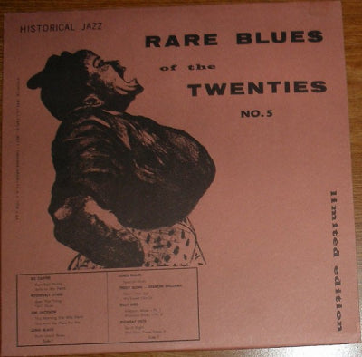 VARIOUS ARTISTS - Rare Blues Of The Twenties No. 5 1927-1930