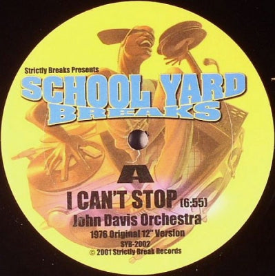 JOHN DAVIS ORCHESTRA / ALVIN CASH - I Can't Stop / Keep On Dancing