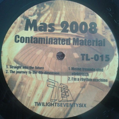 MAS 2008 - Contaminated Material