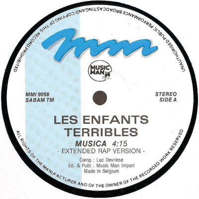 LES ENFANTS TERRIBLES - Musica (Remixes)