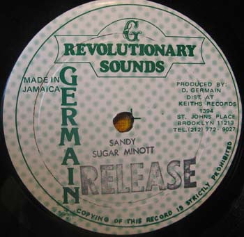 SUGAR MINOTT - Sandy