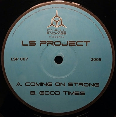 LS PROJECT - Coming On Strong / Good Times