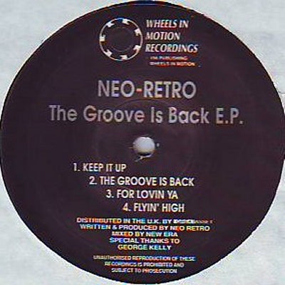 NEO-RETRO - The Groove Is Back E.P.