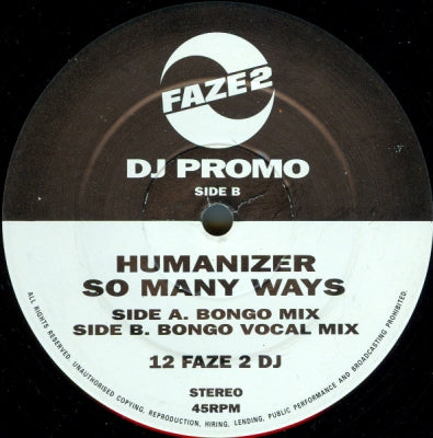 HUMANIZER FEATURING DELTHA - So Many Ways