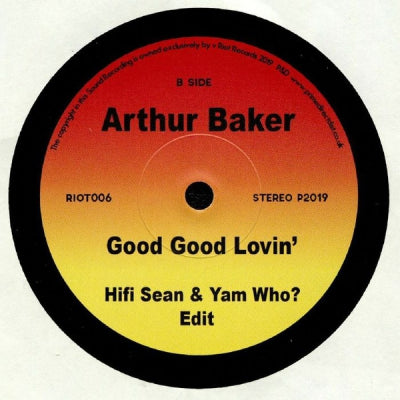 ARTHUR BAKER FEAT. MINNIE GARDNER - Reachin' / Good Good Lovin'