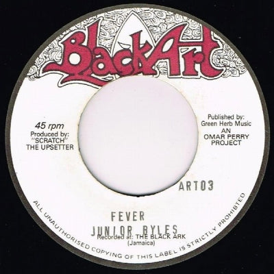 JUNIOR BYLES / KING MEDIOUS - Fever / This World