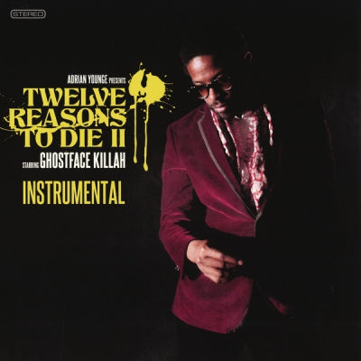 ADRIAN YOUNGE & GHOSTFACE KILLAH - Twelve Reasons To Die II (Instrumental)
