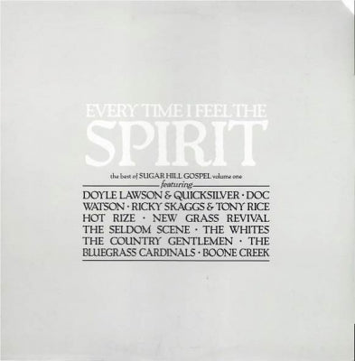 VARIOUS ARTISTS - Every Time I Feel The Spirit