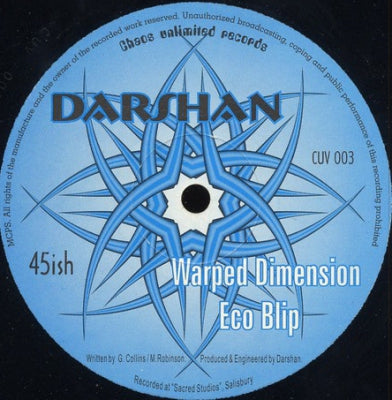 DARSHAN - Warped Dimension / Eco Blip
