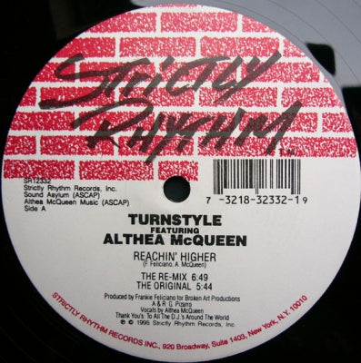 TURNSTYLE FEATURING ALTHEA MCQUEEN - Reachin' Higher