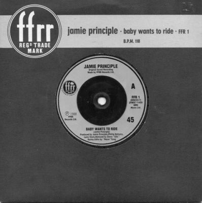 JAMIE PRINCIPLE - Baby Wants To Ride