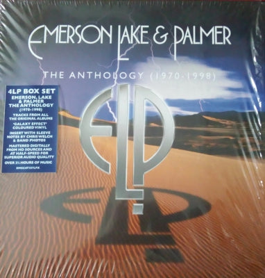 EMERSON LAKE AND PALMER - The Anthology (1970-1998)