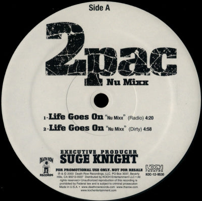 2PAC - Life Goes On / 2 Of Amerikaz Most Wanted (Nu Mixx)