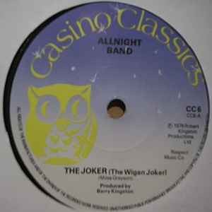 ALLNIGHT BAND - The Joker (The Wigan Joker)