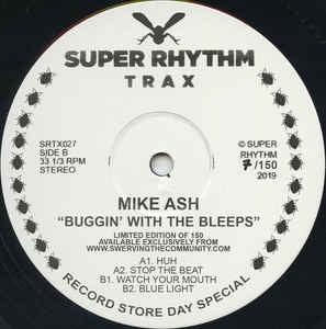 MIKE ASH - Buggin' With The Bleeps