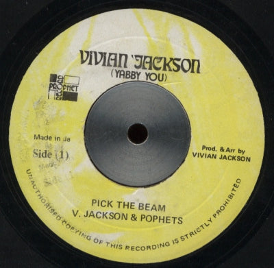 V. JACKSON & POPHETS - Pick The Beam / Version