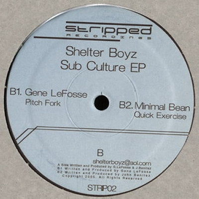 VARIOUS - Sub Culture EP