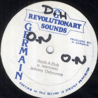 JOHNNY OSBOURNE - Rock-A-Dub / One Dance Version