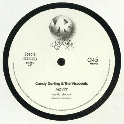 CANDY DARLING & THE VISCOUNTS - Movin'