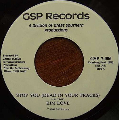 KIM LOVE - Stop You (Dead In Your Tracks)