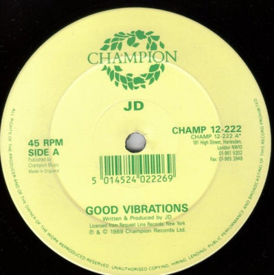 JD - Good Vibrations
