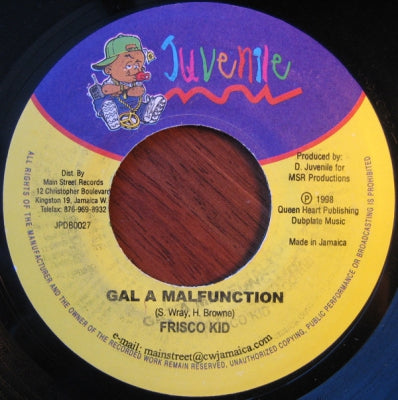 FRISCO KID - Gal A Malfunction