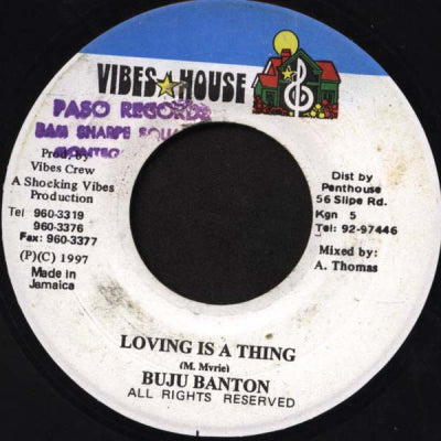 BUJU BANTON - Loving Is A Thing