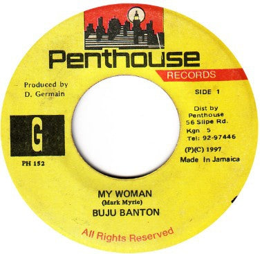 BUJU BANTON - My Woman