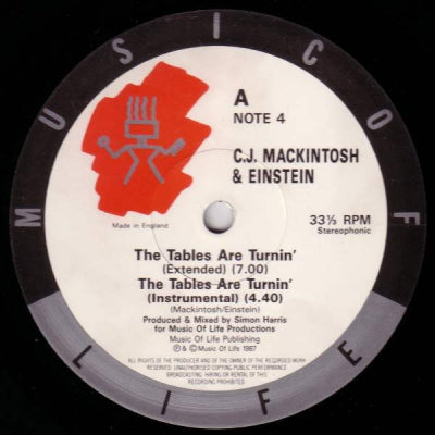 C.J. MACKINTOSH & EINSTEIN - The Tables Are Turnin'