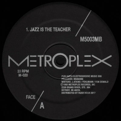 M5003MB - Jazz Is The Teacher / The Cosmic Courier / Bassmental