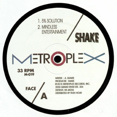 SHAKE - The 5% Solution / Mindless Entertainment / Day Of Reconing / My Name Is Binky