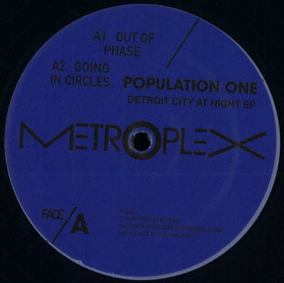 POPULATION ONE - Detroit City At Night EP
