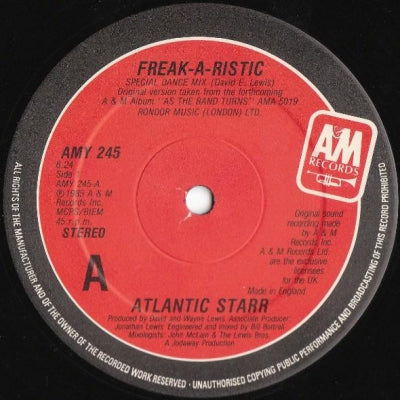 ATLANTIC STARR - Freak-A-Ristic / Circles