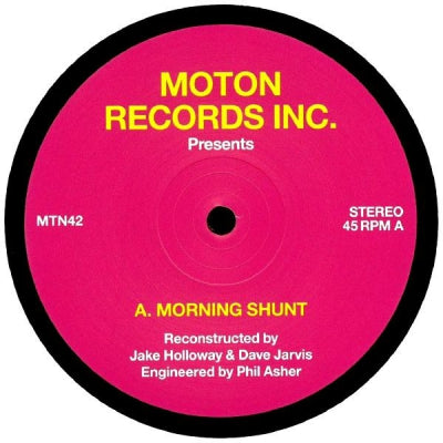 JAKE HOLLOWAY & DAVE JARVIS - Morning Shunt