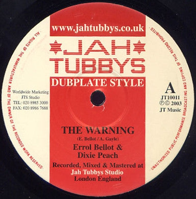 ERROL BELLOT & DIXIE PEACH - The Warning