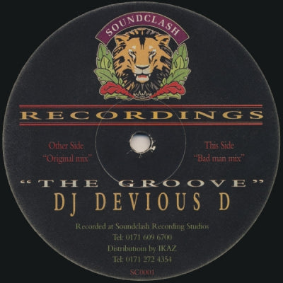 DJ DEVIOUS D - The Groove