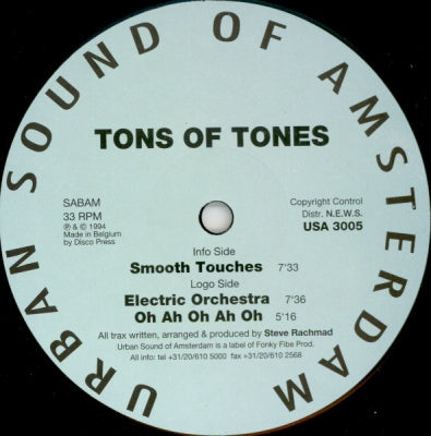 TONS OF TONES - Smooth Touches