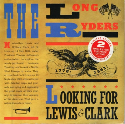 THE LONG RYDERS - Looking For Lewis & Clark