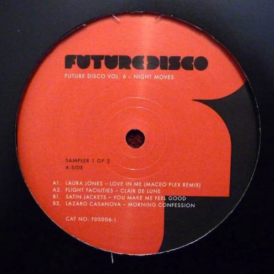 VARIOUS - Future Disco Vol. 6 - Night Moves - Sampler 1 Of 2